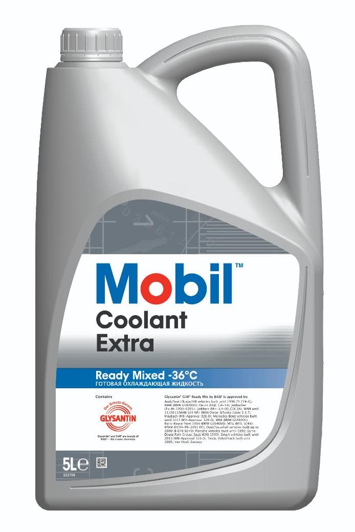 Mobil Coolant Extra Ready Mixed -36C